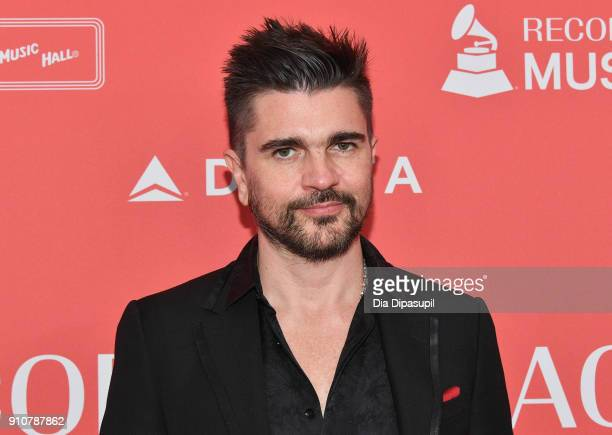 Recording artist Juanes attends MusiCares Person of the Year honoring Fleetwood Mac at Radio City Music Hall on January 26 2018 in New York City