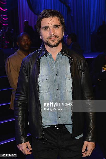 Recording artist Juanes attends the 2014 Person of the Year honoring Joan Manuel Serrat at the Mandalay Bay Events Center on November 19 2014 in Las...