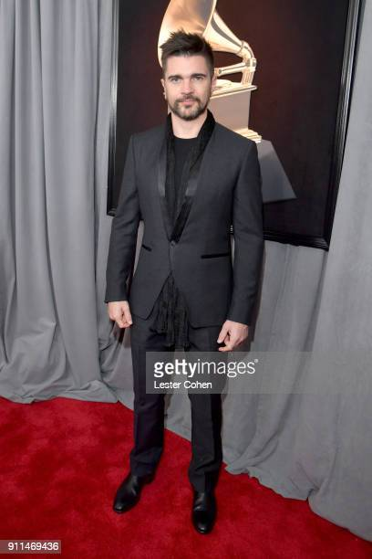 Recording artist Juanes attends the 60th Annual GRAMMY Awards at Madison Square Garden on January 28 2018 in New York City