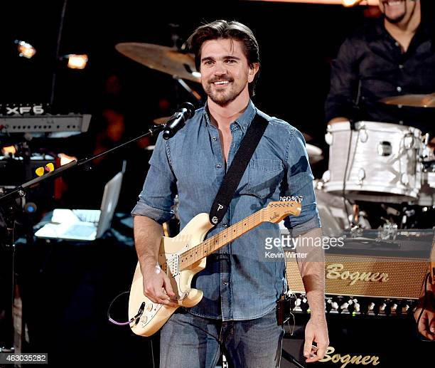 Recording artist Juanes onstage during The 57th Annual GRAMMY Awards at the STAPLES Center on February 8 2015 in Los Angeles California