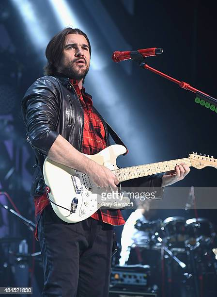 Recording artist Juanes performs at The Theater at Madison Square Garden on August 19, 2015 in New York City.