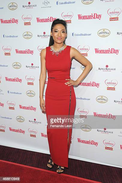 Recording artist Judith Hill arrives as American Heart Association celebrates the 10th Year of Go Red For Women at The Woman's Day Red Dress Awards...