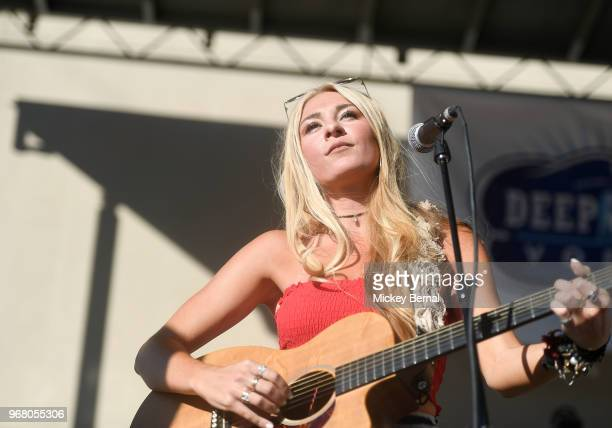 Recording Artist Julia Cole performs during Lewispalooza 8 at the Tin Roof on June 5 2018 in Nashville Tennessee
