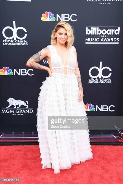 Recording artist Julia Michaels attends the 2018 Billboard Music Awards at MGM Grand Garden Arena on May 20 2018 in Las Vegas Nevada