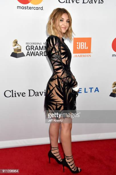 Recording artist Julia Michaels attends the Clive Davis and Recording Academy PreGRAMMY Gala and GRAMMY Salute to Industry Icons Honoring JayZ on...