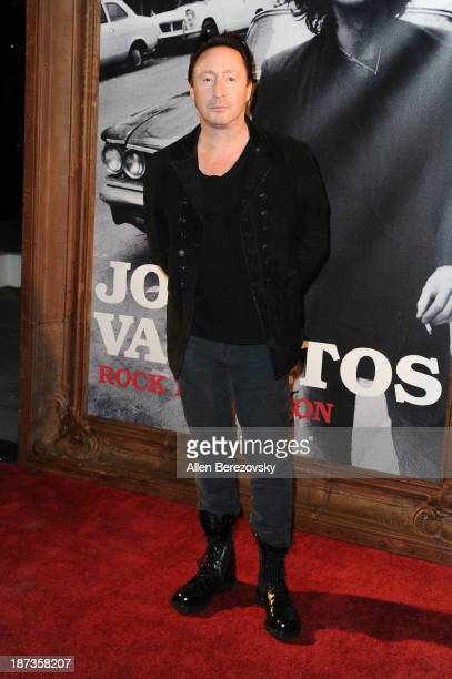 Recording artist Julian Lennon attends the John Varvatos' new book John Varvatos Rock In Fashion launch party at John Varvatos Los Angeles on...