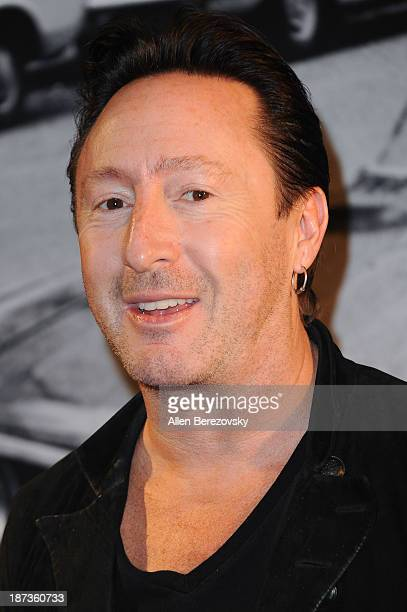 Recording artist Julian Lennon attends the John Varvatos' new book John Varvatos Rock In Fashion launch party at John Varvatos Los Angeles on...