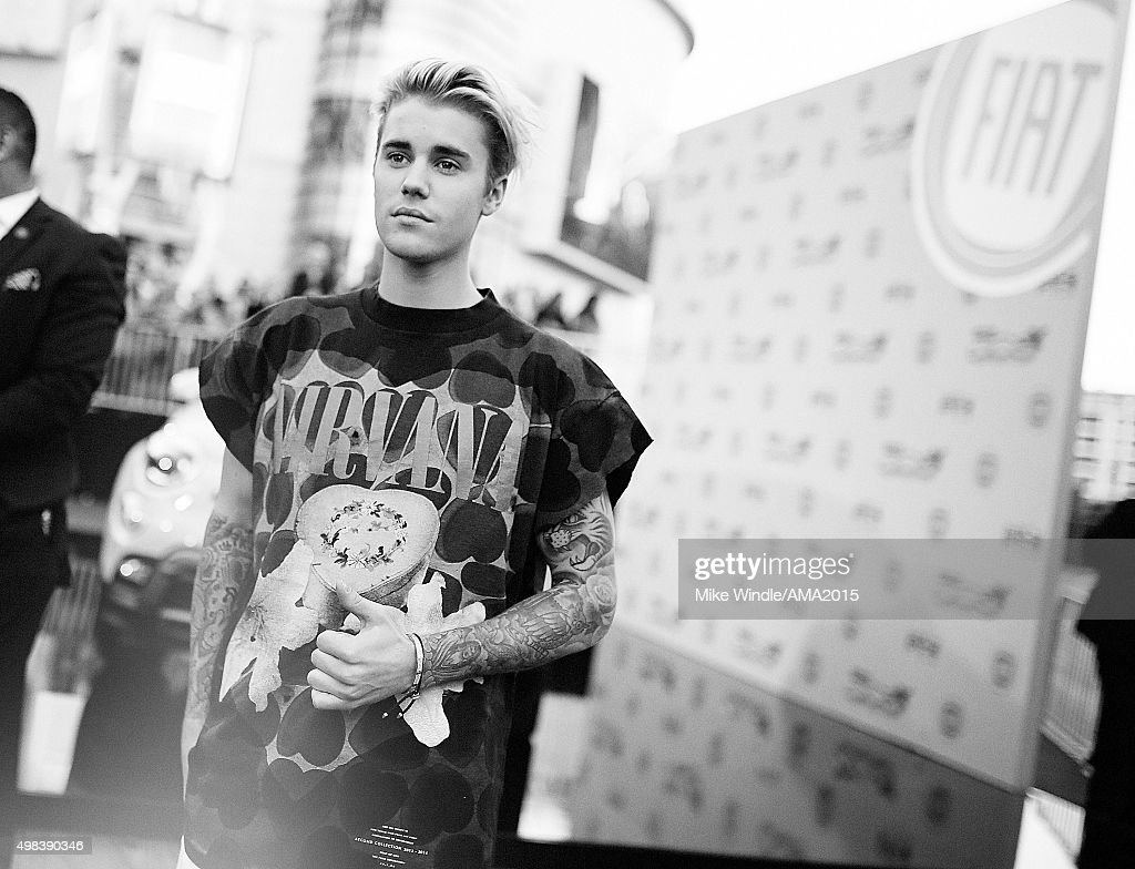 An Alternative View Of The 2015 American Music Awards : News Photo