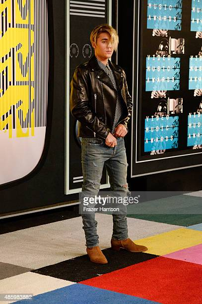 Recording artist Justin Bieber attends the 2015 MTV Video Music Awards at Microsoft Theater on August 30 2015 in Los Angeles California