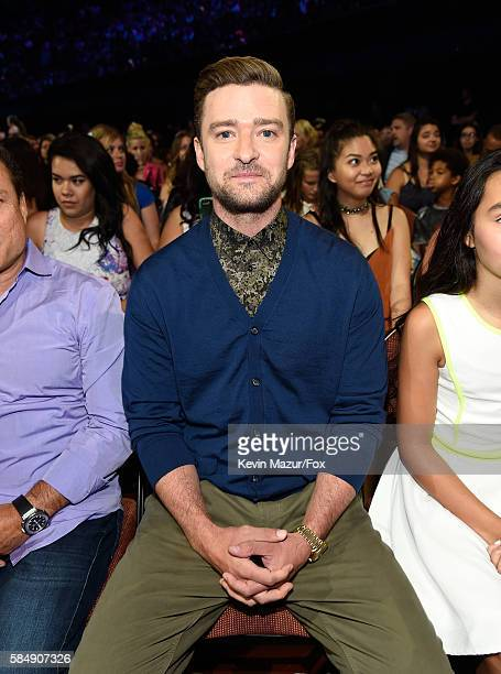 Recording artist Justin Timberlake attends the Teen Choice Awards 2016 at The Forum on July 31 2016 in Inglewood California