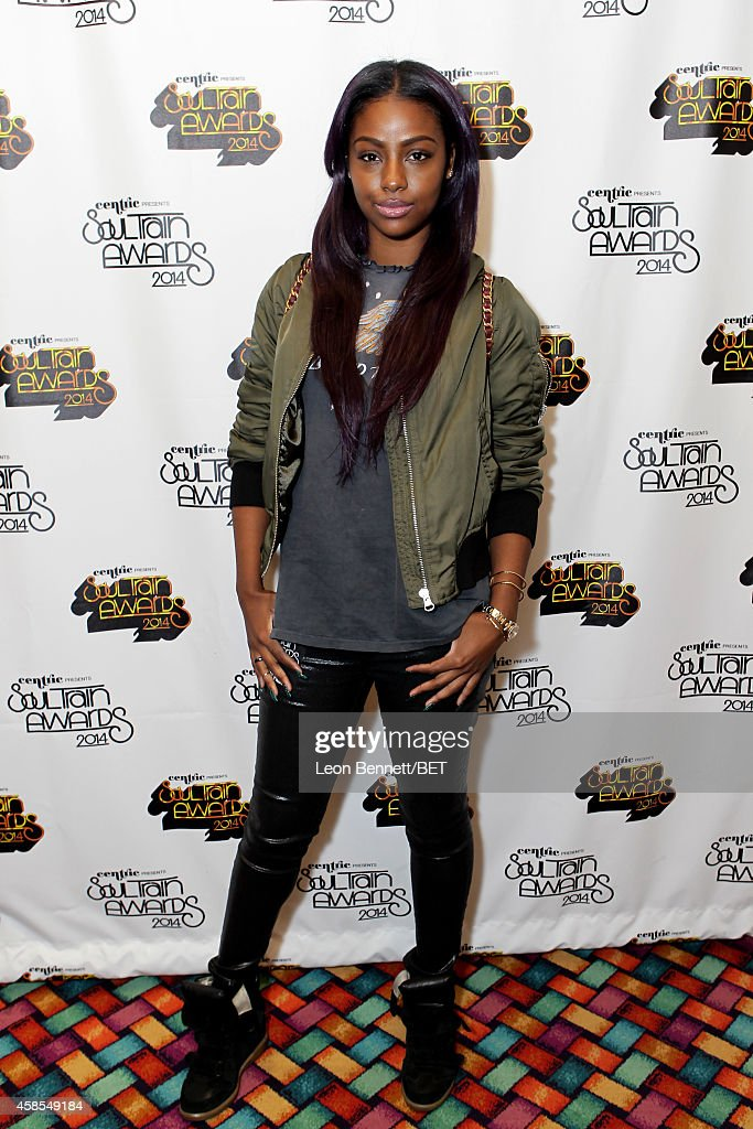 Recording artist Justine Skye attends day 1 of the 2014 Soul Train Music Awards Gifting Suite at the Orleans Arena on November 6, 2014 in Las Vegas, Nevada.