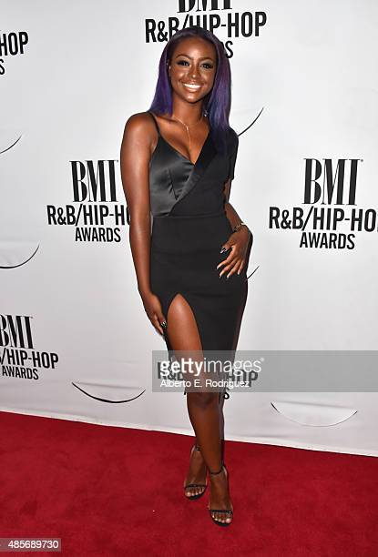 Recording artist Justine Skye attends the 2015 BMI RB/Hip Hop Awards at Saban Theatre on August 28 2015 in Beverly Hills California