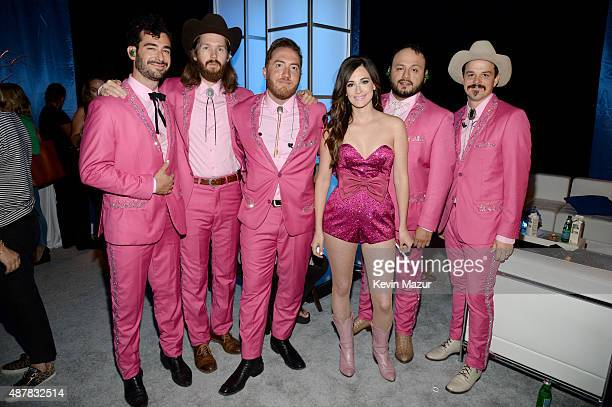 Recording artist Kacey Musgraves attends the Think It Up education initiative telecast for teachers and students hosted by Entertainment Industry...