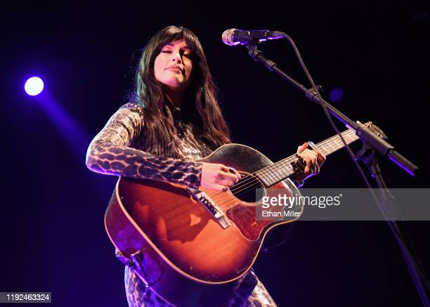 Recording artist Kacey Musgraves performs at the Intersect music festival at the Las Vegas Festival Grounds on December 6 2019 in Las Vegas Nevada