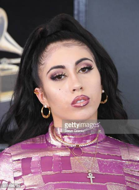 Recording artist Kali Uchis attends the 60th Annual GRAMMY Awards at Madison Square Garden on January 28 2018 in New York City