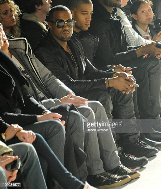 Recording Artist Kanye West attends the Band of Outsiders Fall 2011 fashion show during MercedesBenz Fashion Week at SIR Stage on February 12 2011 in...