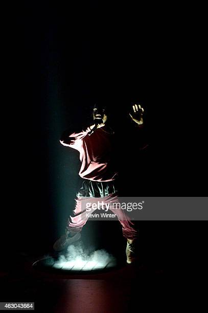 Recording artist Kanye West performs onstage during The 57th Annual GRAMMY Awards at the STAPLES Center on February 8, 2015 in Los Angeles,...
