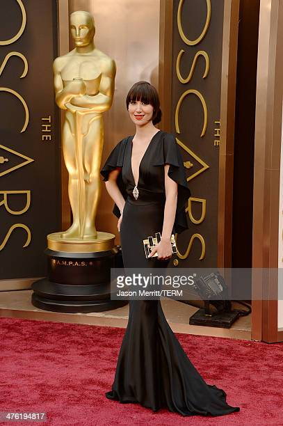 Recording artist Karen O attends the Oscars held at Hollywood Highland Center on March 2 2014 in Hollywood California