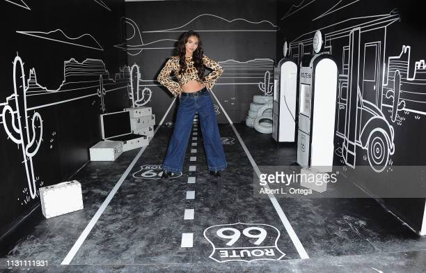 Recording Artist Karina Rae attends Talent And Influencer Day At The Egg House held at The Egg House on March 16 2019 in Los Angeles California