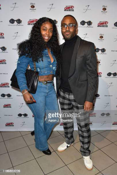 Recording Artist Kash Doll and Surround Sound of Fashion Founder Nate Gilbert during the 11th Annual Surround Sound of Fashion at The DuSable Museum...
