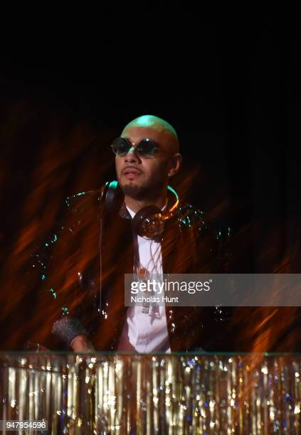 Recording artist Kasseem Swizz Beatz Dean performs on stage at the Eighth Annual Brooklyn Artists Ball at The Brooklyn Museum on April 17 2018 in New...