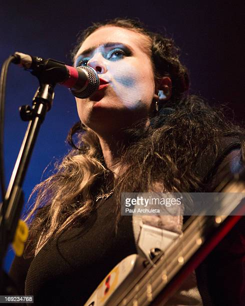 Recording artist Kate Nash performs in concert at The Echo on May 21 2013 in Los Angeles California