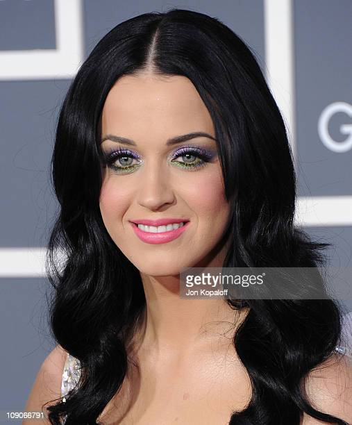 Recording artist Katy Perry arrives at The 53rd Annual GRAMMY Awards at Staples Center on February 13 2011 in Los Angeles California