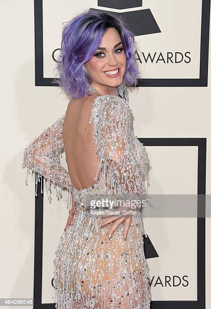 Recording artist Katy Perry arrives at the 57th Annual GRAMMY Awards at Staples Center on February 8 2015 in Los Angeles California