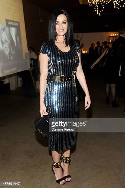Recording artist Katy Perry attends Hollywood Stands Up To Cancer Event with contributors American Cancer Society and Bristol Myers Squibb hosted by...