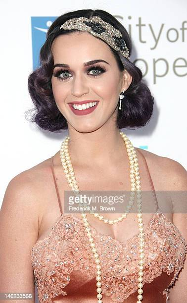 Recording artist Katy Perry attends the City of Hope's Music And Entertainment Industry Group Honors Bob Pittman at The Geffen Contemporary at MOCA...