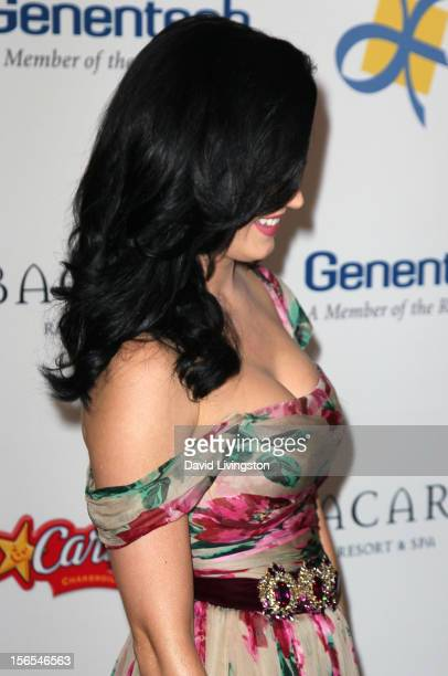 Recording artist Katy Perry attends the Dream Foundation's 11th Annual Celebration of Dreams at Bacara Resport and Spa on November 16 2012 in Santa...