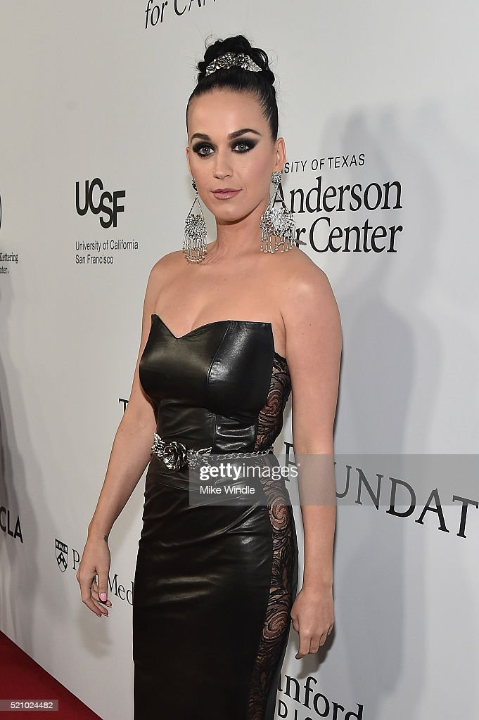 Recording artist Katy Perry attends the launch of the Parker Institute for Cancer Immunotherapy, an unprecedented collaboration between the country's leading immunologists and cancer centers on April 13, 2016 in Los Angeles, California.