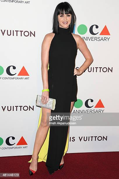 Recording artist Katy Perry attends The Museum Of Contemporary Art, Los Angeles, Celebrates 35th Anniversary Gala Presented By Louis Vuitton at The...