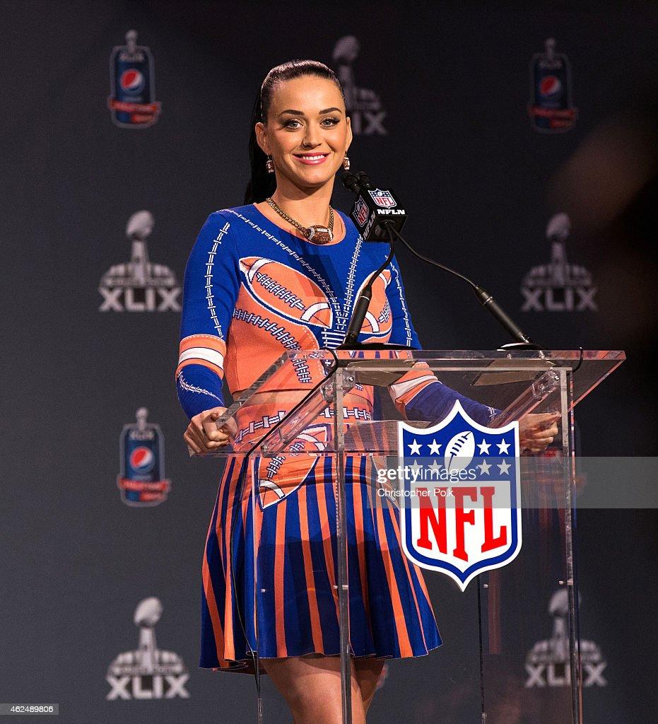 Pepsi Super Bowl XLIX Halftime Show Press Conference : News Photo