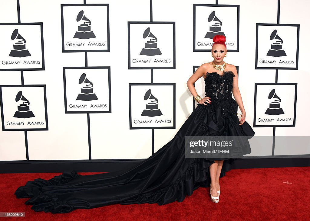 Recording artist Kaya Jones attends The 57th Annual GRAMMY Awards at the STAPLES Center on February 8, 2015 in Los Angeles, California.