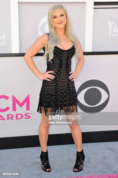 Recording artist Kayla Adams arrives at the 52nd Academy Of Country Music Awards on April 2 2017 in Las Vegas Nevada