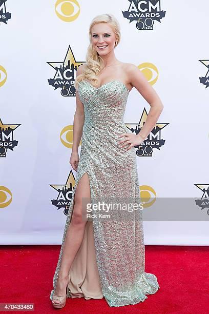 Recording artist Kayla Adamsi attends the 50th Academy Of Country Music Awards at ATT Stadium on April 19 2015 in Arlington Texas