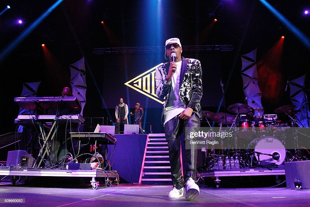 Recording artist K-Ci of Jodeci perform during Ladies Night R&B Super Jam 2016 at Barclays Center of Brooklyn on February 12, 2016 in New York City.