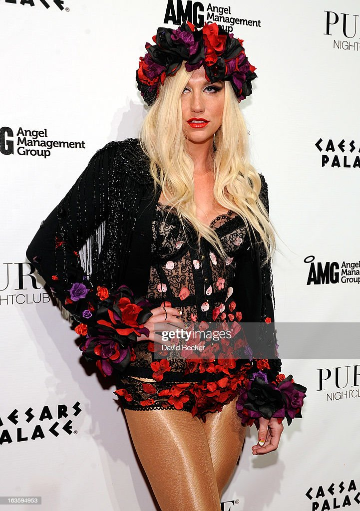 Ke$ha Hosts Pure Nightclub's Eighth Anniversary Celebration