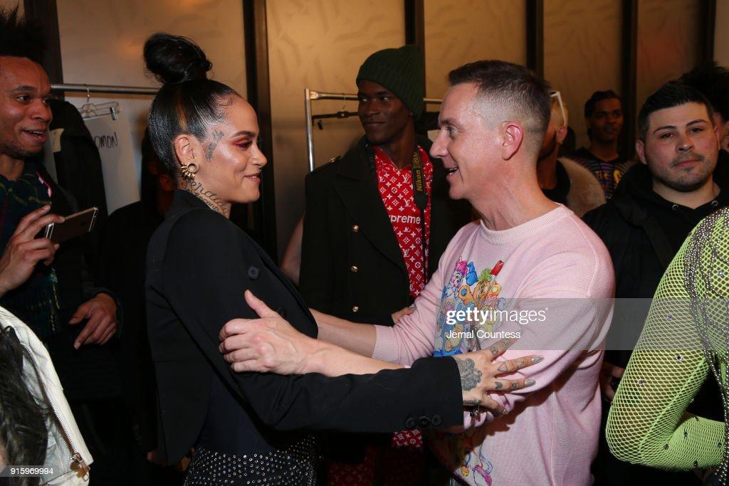 Jeremy Scott - Backstage - February 2018 - New York Fashion Week: The Shows : News Photo