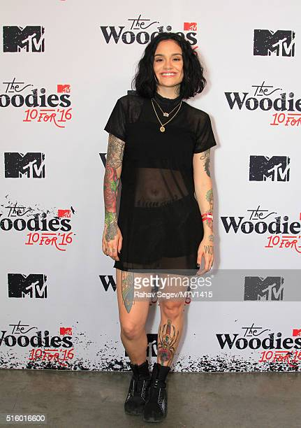 Recording artist Kehlani attends the 2016 MTV Woodies/10 For 16 on March 16 2016 in Austin Texas
