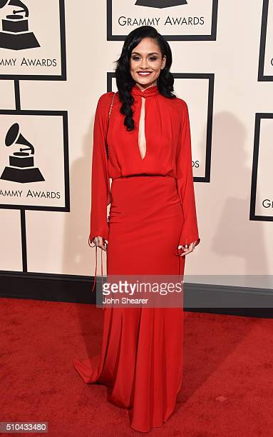 Recording artist Kehlani attends The 58th GRAMMY Awards at Staples Center on February 15 2016 in Los Angeles California