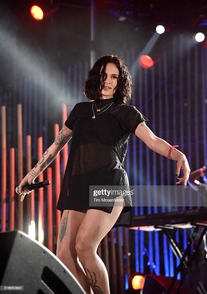 Recording artist Kehlani performs onstage during the 2016 MTV Woodies/10 For 16 on March 16, 2016 in Austin, Texas.