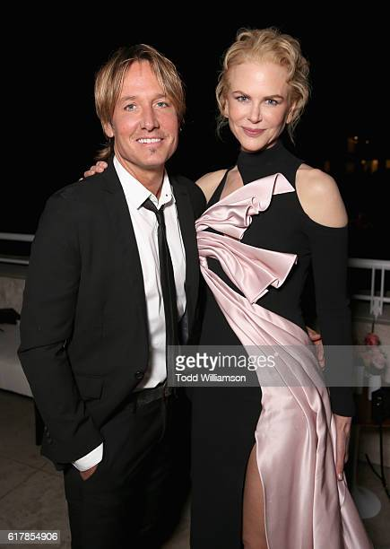 Recording artist Keith Urban and honoree Nicole Kidman attend the Second Annual 'InStyle Awards' presented by InStyle at Getty Center on October 24...
