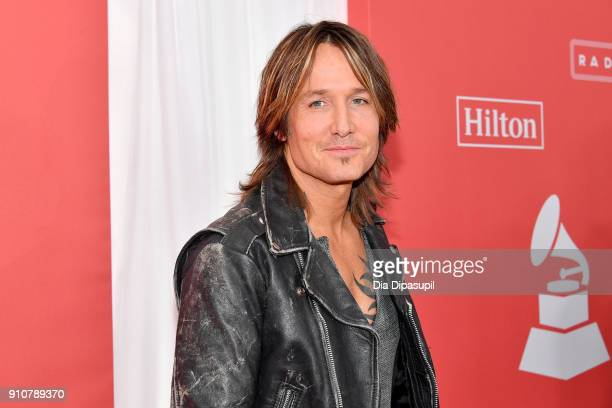 Recording artist Keith Urban attends MusiCares Person of the Year honoring Fleetwood Mac at Radio City Music Hall on January 26 2018 in New York City