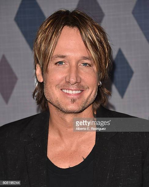 Recording artist Keith Urban attends the FOX Winter TCA 2016 AllStar Party at The Langham Huntington Hotel and Spa on January 15 2016 in Pasadena...