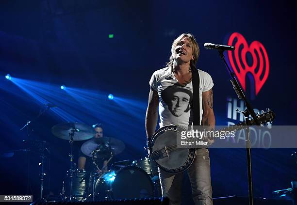 Recording artist Keith Urban performs during the 2016 iHeartCountry Festival at The Frank Erwin Center on April 30 2016 in Austin Texas