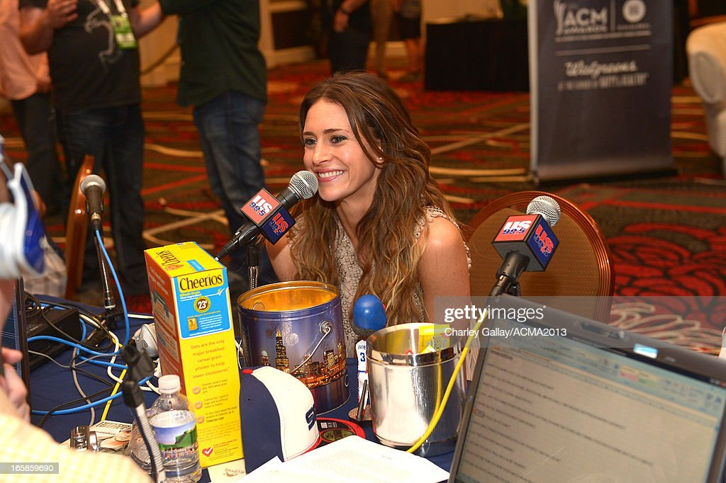 Recording artist Kelleigh Bannen attends the Dial Global Radio Remotes during the 48th Annual Academy of Country Music Awards at MGM Grand Garden Arena on April 6, 2013 in Las Vegas, Nevada.