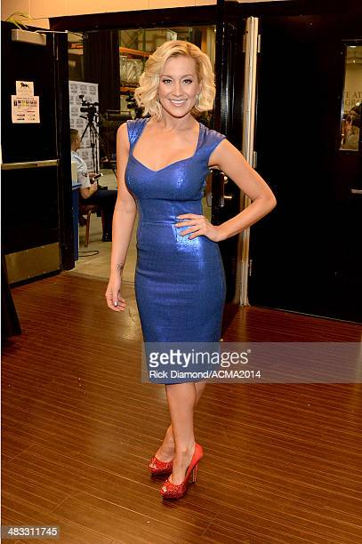 Recording artist Kellie Pickler attends ACM Presents An AllStar Salute To The Troops at the MGM Grand Garden Arena on April 7 2014 in Las Vegas Nevada