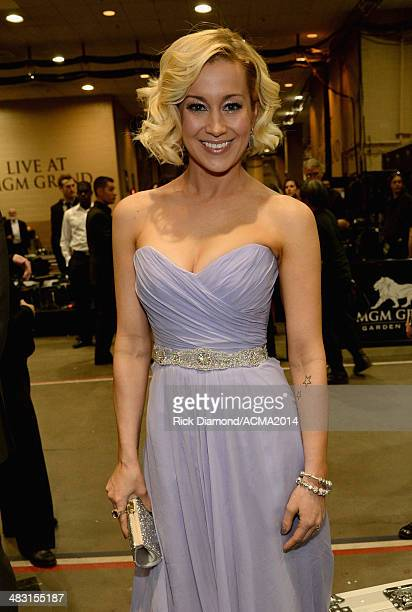 Recording artist Kellie Pickler attends the 49th Annual Academy of Country Music Awards at the MGM Grand Garden Arena on April 6 2014 in Las Vegas...
